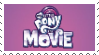 My little Pony the Movie 2017 Stamp by GlitchyXenon