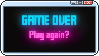 GAME OVER by GlitchyXenon