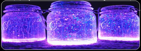 Glitter jars (F2U) by MissToxicSlime