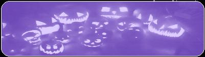 Purple Jack o lanterns by MissToxicSlime