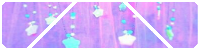 Purple Sparkly Stars