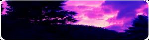 Aesthetic Dark Purple Sky