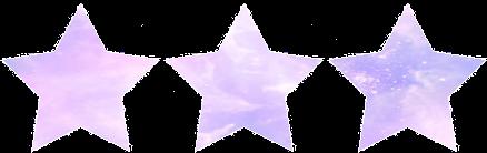 Pastel stars by MissToxicSlime