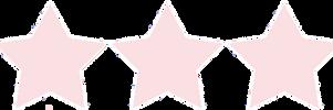 Pastel Pink Stars by CosmicStardustTea