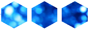 Blue Hexagon 1 by MissToxicSlime
