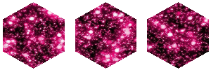 Pink Sparkle hexagon 1 by MissToxicSlime