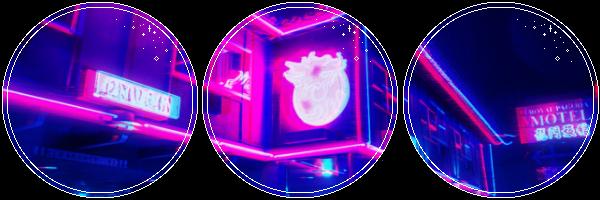 Neon Street by GlitchyXenon