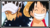 Law x Luffy Stamp - Requested by MissToxicSlime