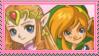 Zelda x Link Stamp