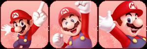 Mario Red Divder