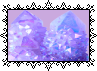 Purple Crystals by MissToxicSlime