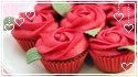 Rose Cupcakes by MissToxicSlime