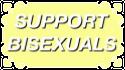 Support Bisexuals by CosmicStardustTea