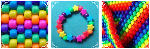 Rainbow Beads Divider
