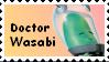 Dr. Wasabi Fan Stamp by CosmicStardustTea