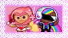 DJ Cookie x Pink Choco Cookie Stamp by CosmicStardustTea