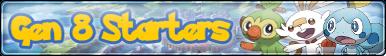 Gen 8 Starters Fan Button by Virus-Xenon