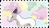 Galarian Ponyta Stamp 2