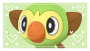 Grookey stamp by GlitchyXenon
