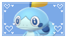 Sobble Stamp by GlitchyXenon