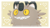 Galarian Meowth Stamp