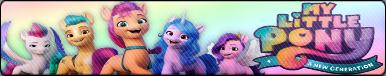 My Little Pony - A new Generation Fan Button