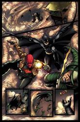 Batman And Robin 20  Page 12 by jadecks