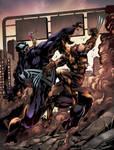 Venom vs Wolverine