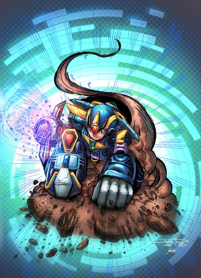 Megaman by jadecks