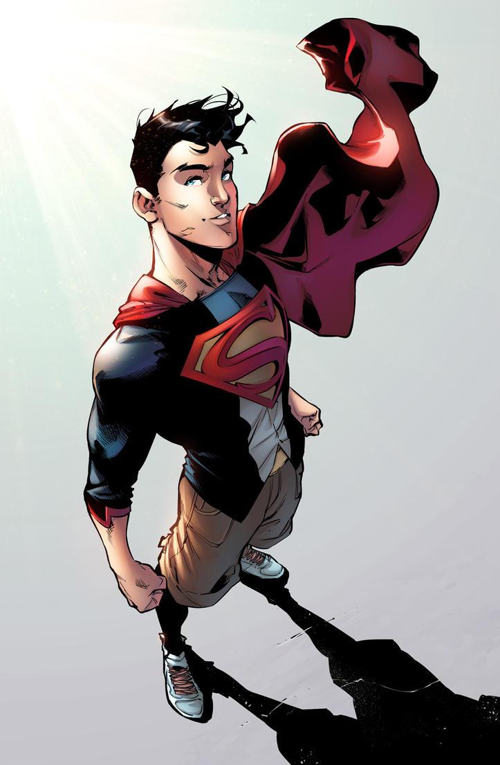 Superboy by jadecks