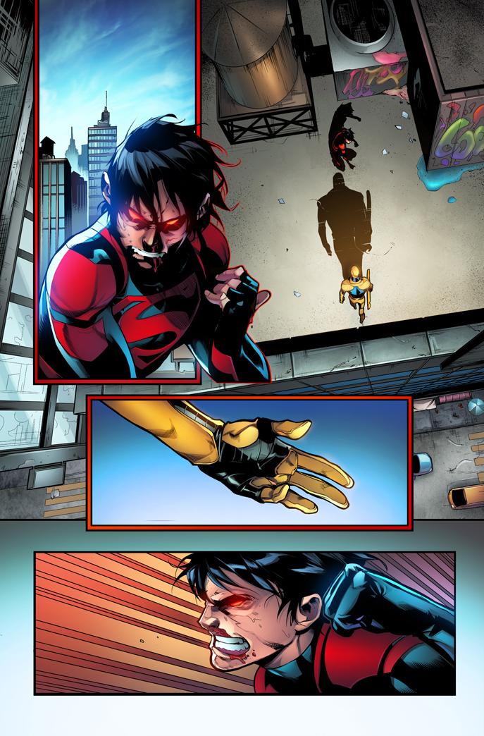 Superboy Color Test by jadecks