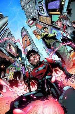 Superboy Cover Color Test