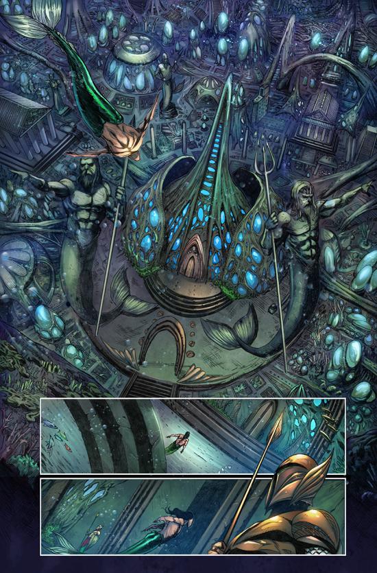 The Little Mermaid Issue #2 by jadecks