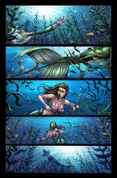 The Little Mermaid Issue #3