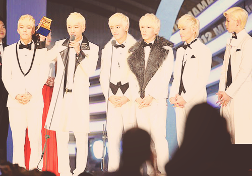 B.A.P PD Choice Award MAMA by hitsukarinluvr