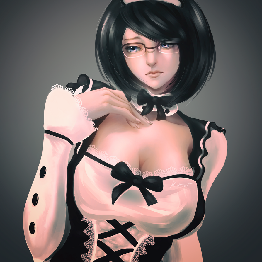 Maid_with_glasses by raimont
