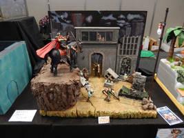 Hokuto no Ken diorama
