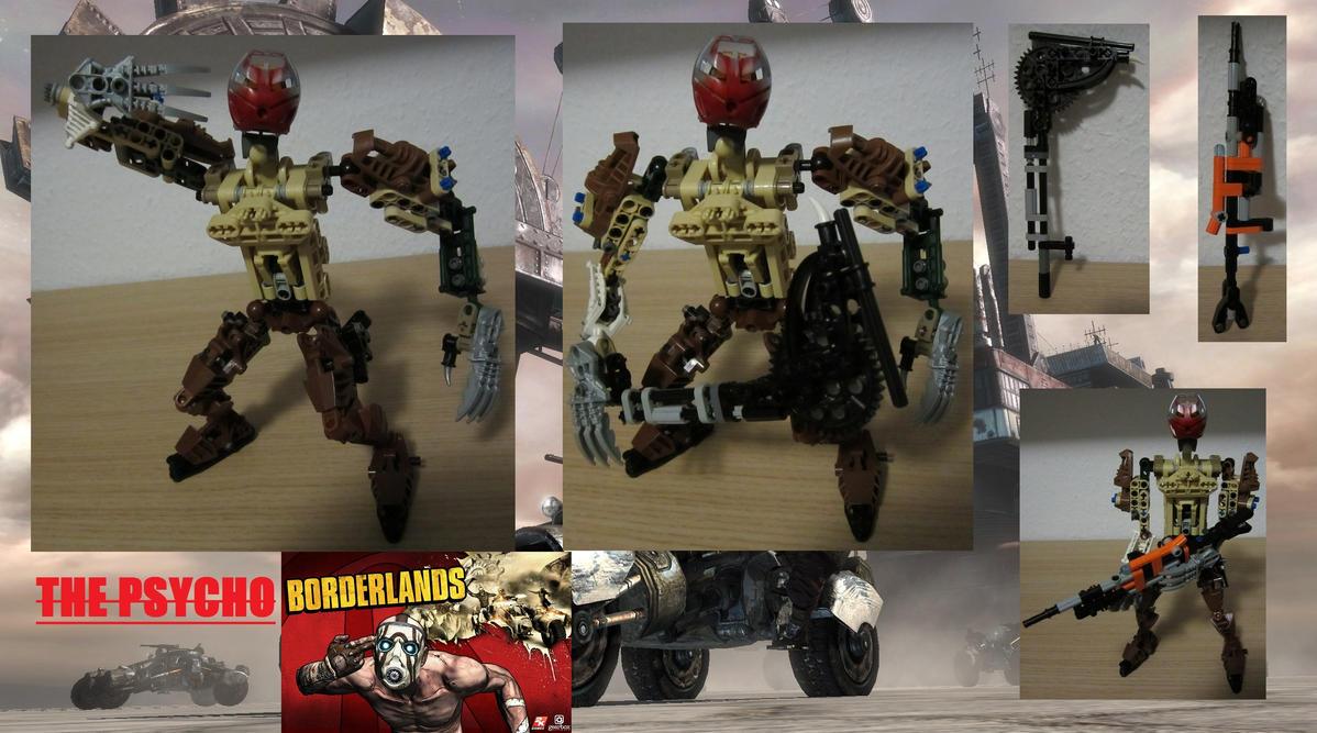 Lego Borderlands The Psycho Moc By Thatdudemaan On Deviantart