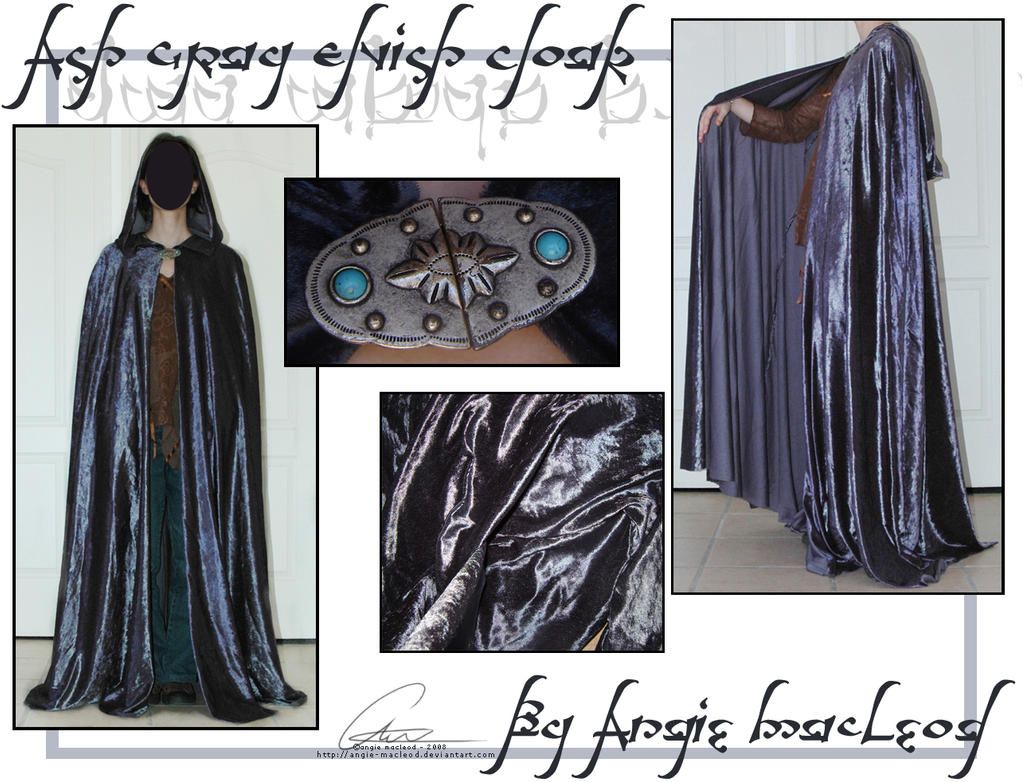 Gray cloak 2