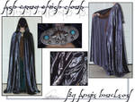 Ash Gray Elvish Cloak