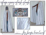 Silver Gray Elvish Cloak