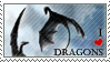 Stamp - I Heart Dragons by ValkAngie