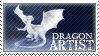 Stamp - Dragon Artist by ValkAngie