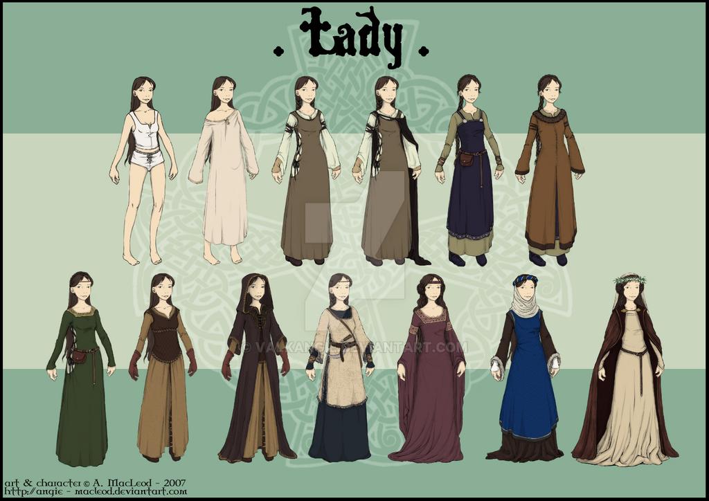 Wardrobe - Lady by ValkAngie