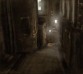 Edinburgh's Close by ValkAngie