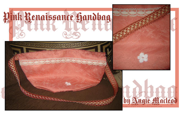 Pink renaissance handbag by valkangie on deviantart - Reconstitution historique salon de provence ...
