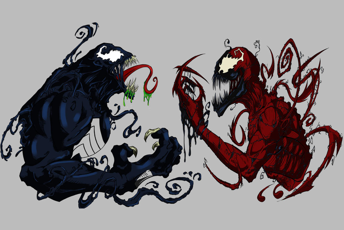 Venom and Carnage by SuiCom on DeviantArt
