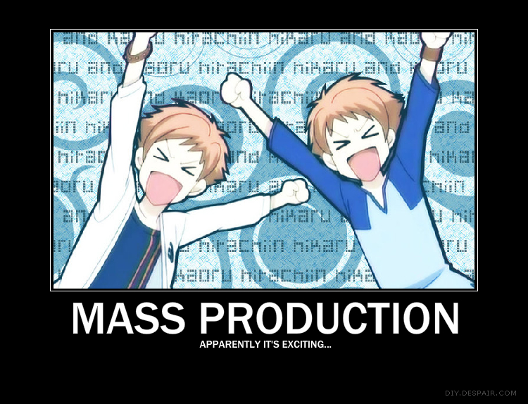 Mass Production by hikaru-boo1408