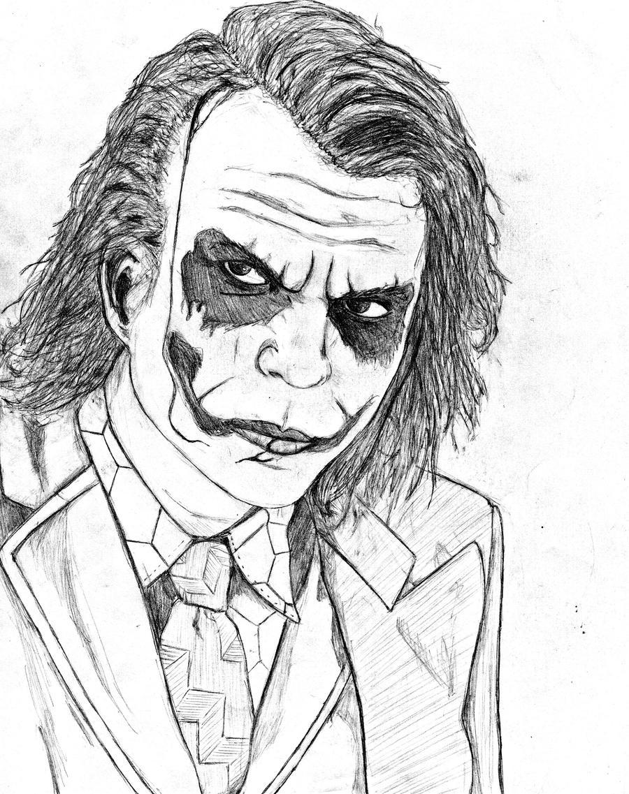 Heath Ledger The Joker By SilenceLegion On DeviantArt
