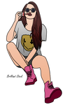 Chick Girl Doll by BrilliantStock